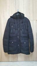 SCOTCH CCWZ SCOTCH  SODA Men Winter Black Hooded Parka Thick Warm Jacket Size XL