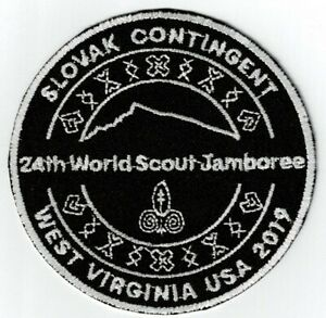 24th World Scout Jamboree 2019 Slovak Slovakia Contingent Patch