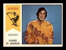 1974-75 O-Pee-Chee WHA #62 Claude St.Sauveur EXMT/EXMT+ X1274295