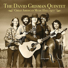 DAVID GRISMAN QUINTET - Great American Music Hall 1977. New CD + sealed. **NEW**