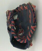 Cleveland Indians Chief Wahoo TBall Baseball Catcher Glove Mitt Left Hand Wilson