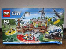 1 NEUES Lego-City Bauanleitung Banditenversteck im Sumpf 4 Hefte 60068