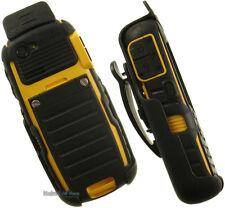BLACK SPRING CLIP BELT HOLSTER CASE FOR BELL SONIM BOLT 2 IS SL XP5560 XP1520