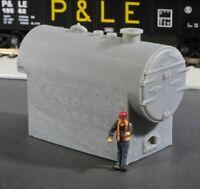 HO Scale Birchfield Industrial Fire Tube Boiler Flatcar Load
