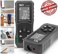 Handheld Digital Laser Point Distance Meter Tape Range Finder Measure 40m