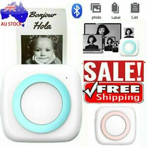 Mini bluetooth Wireless Thermal Pocket Printer Photo Phone Print For Android/IGN