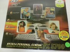 PNY NVIDIA Personal Cinema FX5700 - New/Sealed in Retail Box PCFX5700APB
