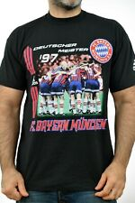 Adidas FC BAYERN MUNCHEN 1997 Supporter Football TEE RED T-SHIRT TOP XL Vintage