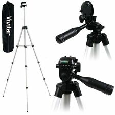 "Vivitar 50"" Lightweight Photo/Video Tripod With Case For Nikon Coolpix Camera"