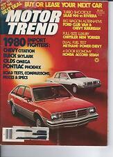 Motor Trend -May 1979, Saab 900 vs Riviera, Chrysler New Yourker, Methane-Power