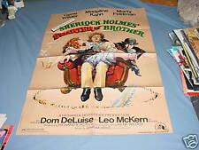 SHERLOCK HOLME'S SMARTER BROTHER Movie Poster 1975 Orig