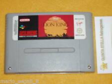 THE LION KING Super Nintendo SNES versione PAL -  IL RE LEONE
