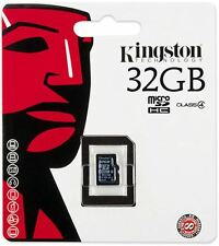 Kingston 32GB MICROSDHC CLASS 4 FLASH CARD  SDC4/32GBSP