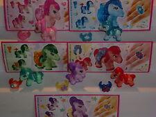 5 Figuren  > My little Pony   2013  < (D) + alle 5 BPZ