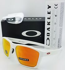 NEW Oakley Targetline Sunglasses White Prizm Ruby 9397-0358 GENUINE Red 9397-03