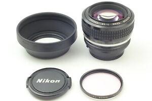 [NEAR MINT] Nikon Nikkor Ai 50mm f/1.2 MF Prime Lens w/ hood From JAPAN