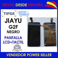 Pantalla LCD COMPLETA PARA JIAYU G2F Táctil + TACTIL NEGRO ENVÍO 24 HORAS