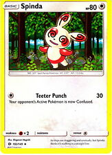 Spinda 102/149  Pokemon TCG Sun & Moon Single Card