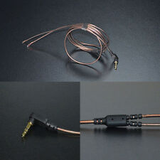 KZ 3.5mm 3-Pole Jack 56 Strands DIY Audio Cable 1.2m Earphone Maintenance Wire
