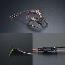 KZ 3.5mm 3-Pole Jack 56 Strands DIY Audio Cable 1.2m Earphone Maintenance Wire