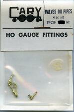 Original Cary HO VP-226 Valves on Pipes - 4 pc.set - NOS