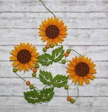 Türschmuck w. Türkranz Sonnenblumengirlande Girlande Sonnenblume Herbst Tür Deko