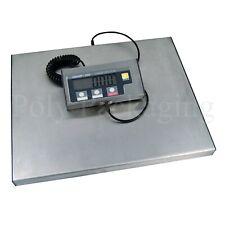 More details for j/ship scales 150kg/332lbs heavy duty/platform/large/industrial digital display