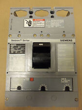 SIEMENS ITE HLD 3 pole 400 AMP TRIP 600v HLD63F600 HLD63F400 Breaker HDL6 HLD6-A