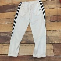 Adidas Womens Essential Sweatpants Size Large New NWT White
