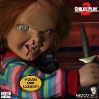 Mezco Toyz MDS Childs Play 2 Talking Menacing Chucky Horror Doll Figure 78023