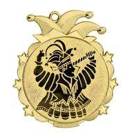 "Karnevalsorden gold ""Wasungen"" 70x65mm inkl.Emblem & Band nur 2,55 EUR/Stück"