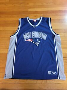 New England Patriots Basketball Jersey. Made by VF Imagewear. Size 2XL. Used
