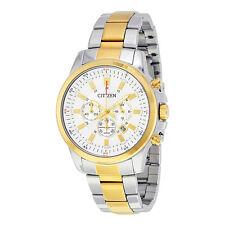 Citizen Chronograph White Dial Mens Watch AN8087-51A