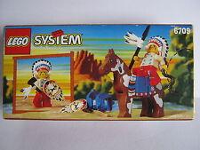LEGO SYSTEM 6709 Western-Set Indianer-Häuptling Pferd 1997 NEU/ungeöffnet ..70g
