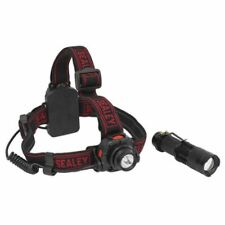 Sealey Head Torch 3W CREE XPE Motion Sensor+Hand Torch 3W CREE XPE HT110