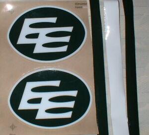CFL EDMONTON ESKIMOS FULL SIZE FOOTBALL DECALS