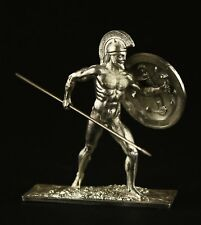 Naked Greek Warrior Silver Dream Studio Kit Tin toy soldier 54 mm,metal