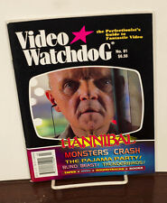 VIDEO WATCHDOG ISSUE #81 HANNIBAL-THE PAJAMA PARTY-THUNDERBIRDS NM/MINT