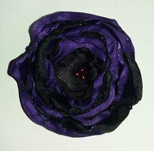 Fabric Rose Flower Brooch, Embellishment, Boho, Hippy, Handmade