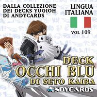 Yu-Gi-Oh! Mazzo DRAGO BIANCO OCCHI BLU di Kaiba Completo ☻ Deck 109 ☻ YUGIOH
