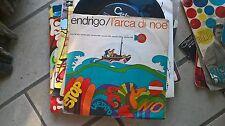 """7"""" SERGIO ENDRIGO L'ARCA DI NOE' DALL'AMERICA COPERTINA VG+ VINILE  VG"""