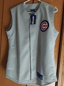 Men Jersey Shirt Baseball Mizuno Chicago Cubs Small