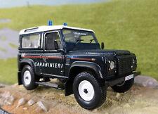Land Rover Defender Td5 90 Italiano Carabinieri Policía 1:43 Escala Modelo