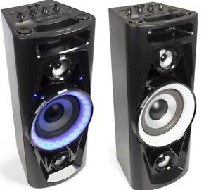 Blaupunkt Boombox Party Lautsprecher Ghettoblaster Bluetooth Radio USB