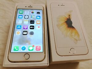 Apple iPhone 6s - 32GB - Gold (Unlocked) A1688 IDEAL CONDITION