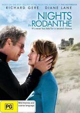 Richard Gere Diane Lane NIGHTS IN RODANTHE DVD (NEW & SEALED)