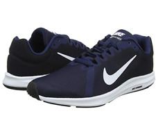 Nike Downshifter 8 Mens UK 7/ EU 41 Running Shoes Navy Jogging Trainers Crossfit