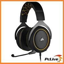 Corsair Hs60 Pro Gaming Headset 7.1 Surround Sound Microphone PC Ps4 Yellow