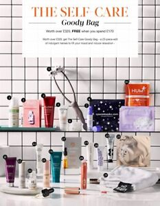 CULT BEAUTY 'The Self Care Goody Bag' 2021 Brand New Packed RRP£320 - 23 ITEMS