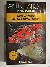 FLEUVE NOIR ANTICIPATION N° 936 : Sous le signe de la grande ourse /K.H. SCHEER
